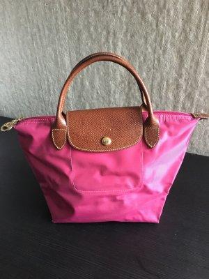 Longchamp Le Pliage S Tasche fuchsia /pink neuwertig
