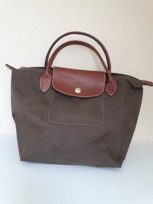 Longchamp Carry Bag green grey nylon