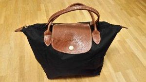 Longchamp Le Pliage, schwarz, Größe S