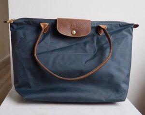 Longchamp Le Pliage Shopper Blau