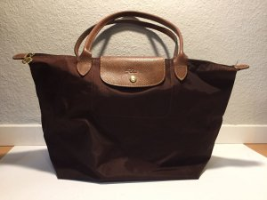Longchamp Le Pliage Shopping Bag L braun