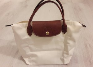 Longchamp Le Pliage Shopping Bag S weiß