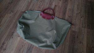 Longchamp Le Pliage Shopping Tasche, olivgrün, Größe L