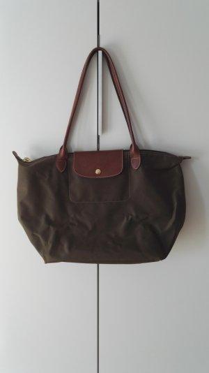 Longchamp Le Pliage Tasche in Khaki Grün