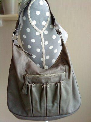 Longchamp Shoulder Bag anthracite leather