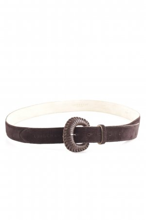 Longchamp Leather Belt brown casual look