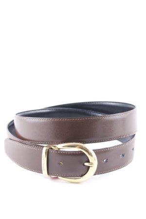 Longchamp Ledergürtel braun klassischer Stil