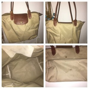 Longchamp M braun/beige