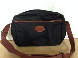 Longchamp Messenger, schwarz 1x benutzt