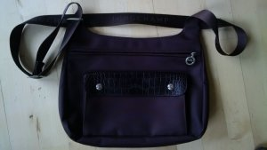 Longchamp Gekruiste tas donkerbruin Nylon