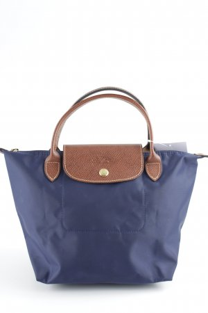 Longchamp Mini Bag blue-brown elegant