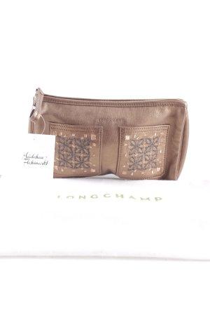 Longchamp Minitasche bronzefarben extravaganter Stil