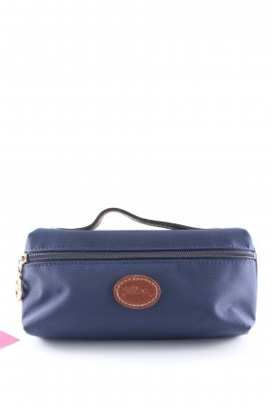 Longchamp Borsetta mini blu scuro-marrone elegante