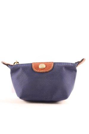 Longchamp Mini Bag dark blue-brown classic style