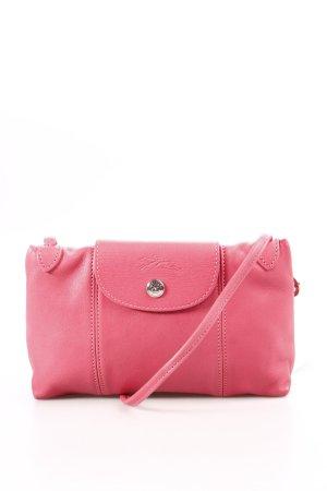 Longchamp Minitasche rosa extravaganter Stil