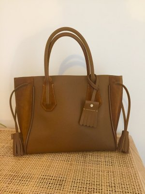 Longchamp Penelope Alexa Chung Cognac