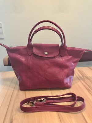 Longchamp pliage cuir