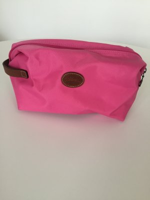 Longchamp Pliage Kosmetische Pink Nylon wie neu!