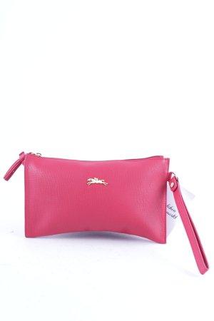 Longchamp Pochette ziegelrot minimalistischer Stil