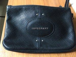 Longchamp Pochette noir cuir