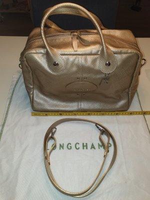 Longchamp Quadri Gold