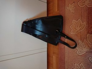 Longchamp Rucksack Leder schwarz