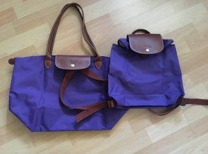 Longchamp Rucksack Neu + Shopper L Top Zustand