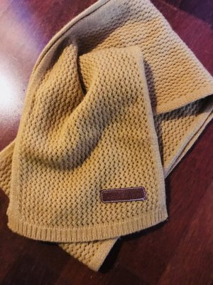 Longchamp Knitted Scarf yellow