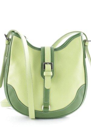 Longchamp Schultertasche grasgrün-grün klassischer Stil