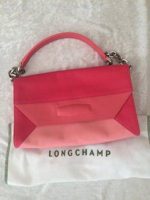 LONGCHAMP Schultertasche mit Kette, pink-rosa