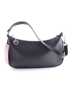 Longchamp Schultertasche schwarz Casual-Look