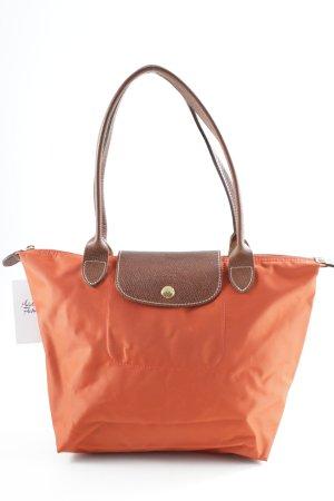 Longchamp Borsa a tracolla rosso mattone-marrone stile casual