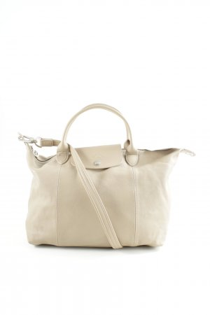 Longchamp Shopper beige Street-Fashion-Look