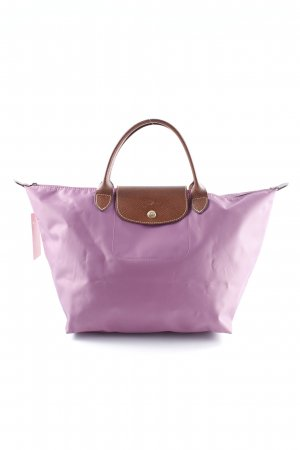 Longchamp Shopper blasslila Casual-Look
