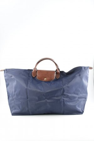 Longchamp Shopper braun-dunkelblau Casual-Look