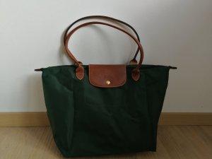 Longchamp Shopper vert foncé-vert forêt