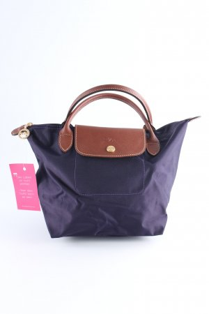 Longchamp Shopper dunkelviolett-braun Casual-Look