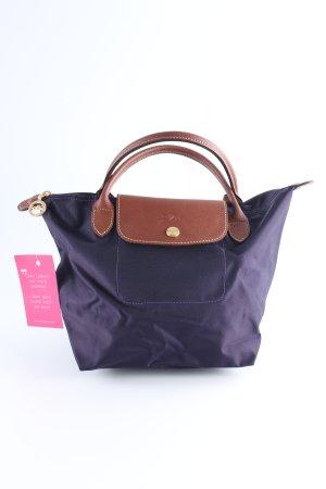 Longchamp Shopper dunkelviolett-braun Casual-Look