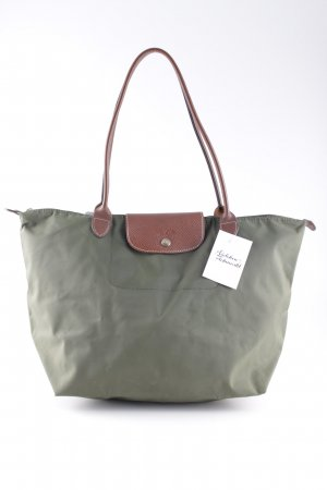 Longchamp Shopper grüngrau Casual-Look