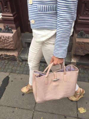 Longchamp Shopper in Krokooptik