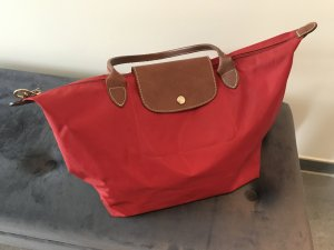 Longchamp Shopper brick red