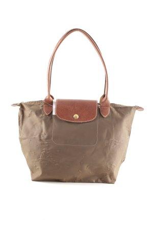 Longchamp Shopper khaki-hellbraun Casual-Look