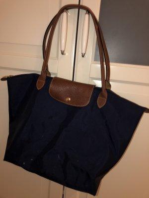 Longchamp Bolso barrel azul oscuro-azul