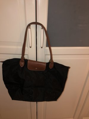 Longchamp Bolso barrel negro