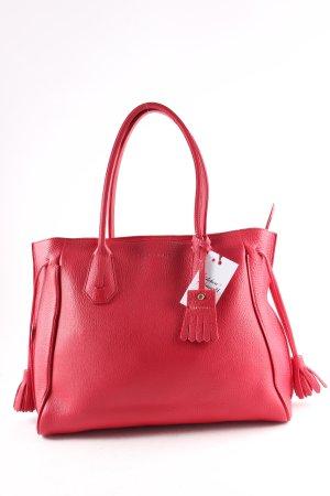 Longchamp Shopper brick red elegant