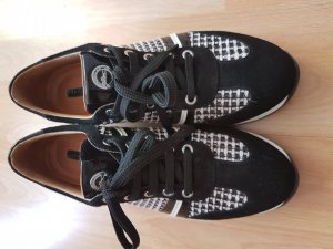 Longchamp Sneakers Samt und Silber