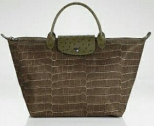 Longchamp Sonderedition Croco Gr. M