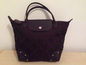 Longchamp Handtas bruin-paars
