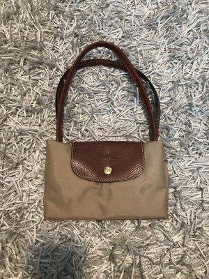 Longchamp Canvas Bag beige