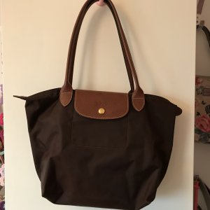 Longchamp Bolso barrel marrón